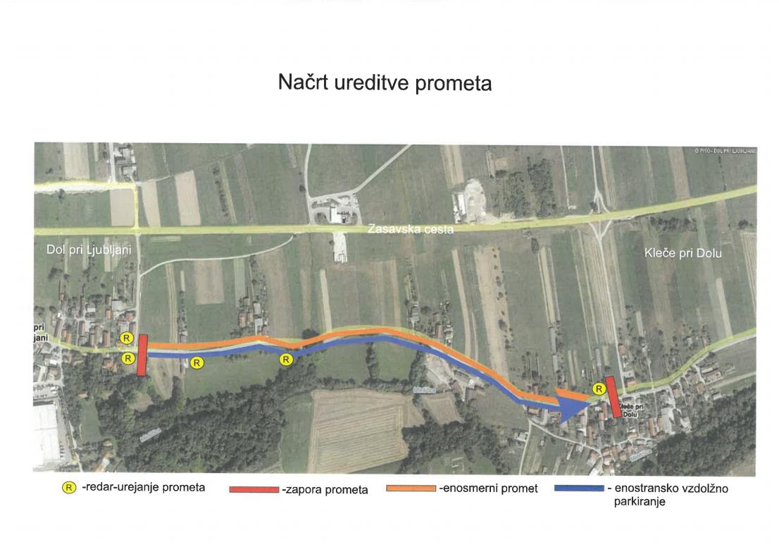 Načrt ureditve prometa