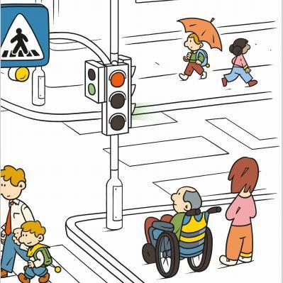 Nasveti za varnejšo udeležbo pešcev v prometu