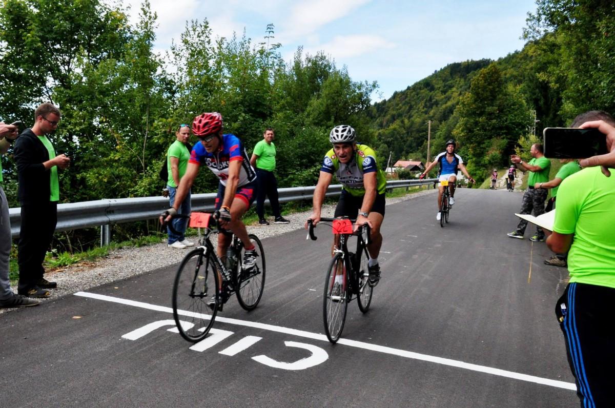 18. kolesarski vzpon k baronu Juriju Vegi in 1. Barončkov vzpon za najmlajše