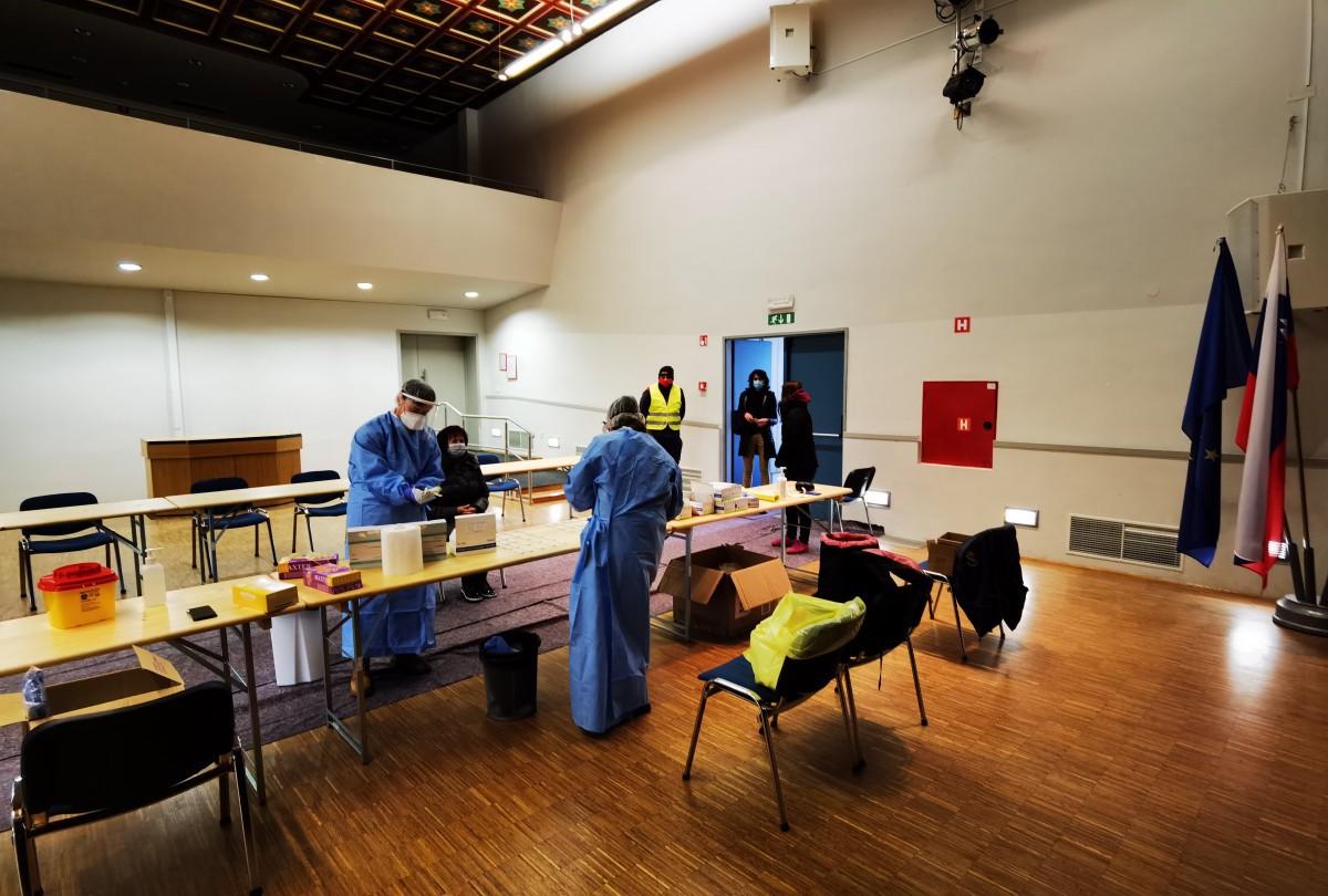 Poročilo o prostovoljnem testiranju v Dolskem
