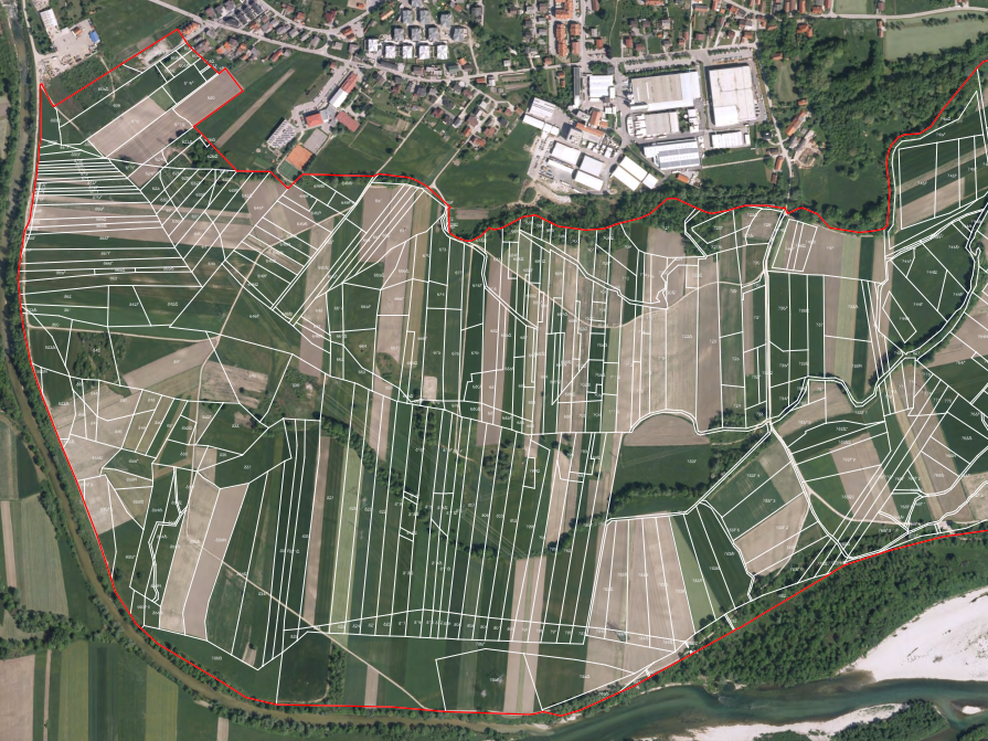 Upravna komasacija in agromelioracija na kmetijskih zemljiščih