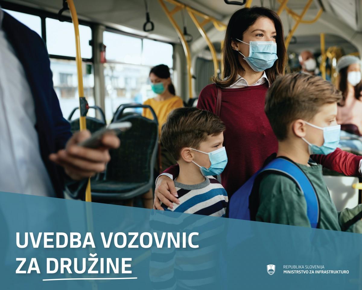 Novi vozovnici za potovanje z medkrajevnim avtobusnim javnim potniškim prometom in domačim železniškim prometom