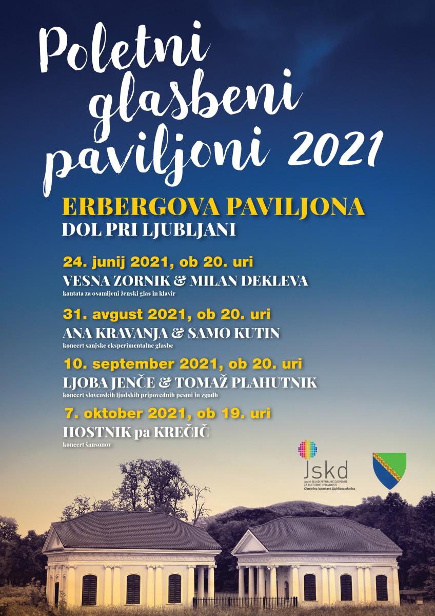 Poletni glasbeni paviljoni 2021