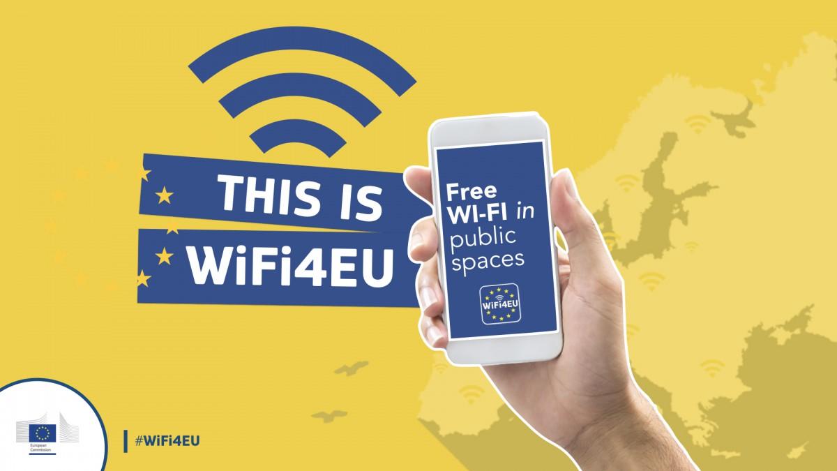 Brezplačen javen WiFi dostop prihaja na 7 lokacij v občini