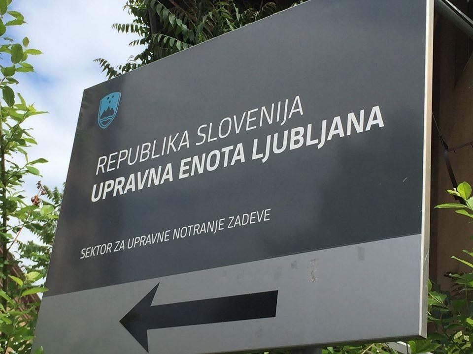 Upravna enota Ljubljana zagotavlja nujne upravne storitve