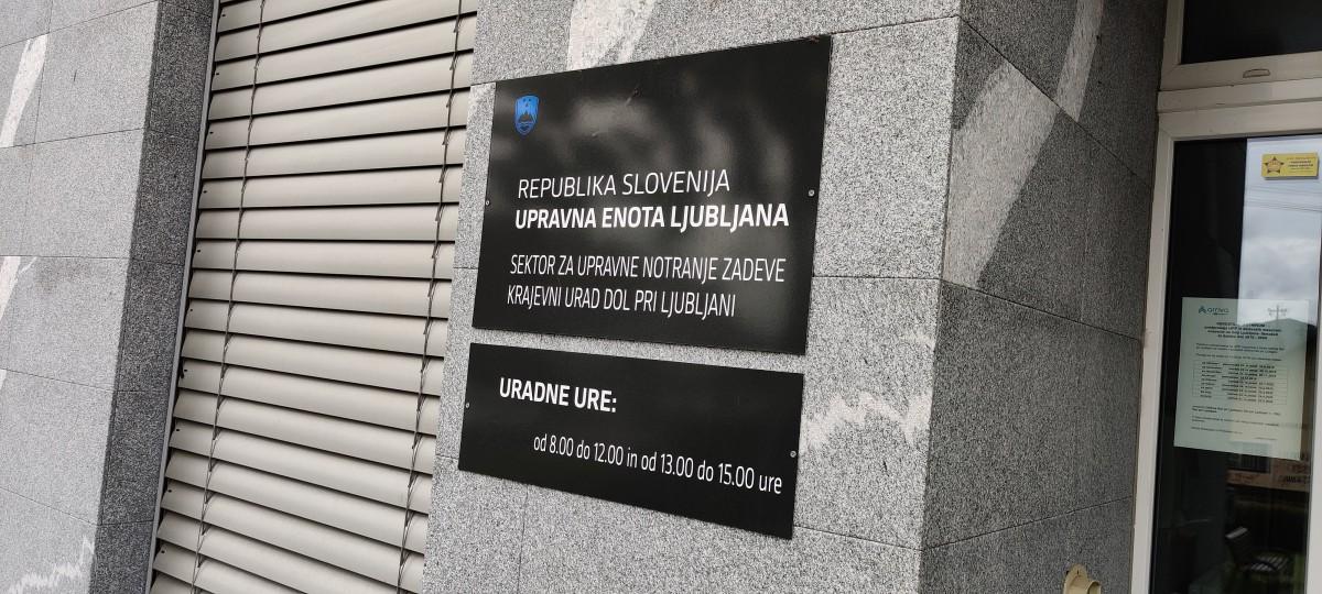 Začasno preklicano naročanje na storitve Krajevnega urada Dol